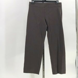 eileen fisher ponte pull on pants sz PM petite med